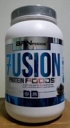 Whey Protein Concentrado Fusion Protein Foods 900g - BRN Foods na internet