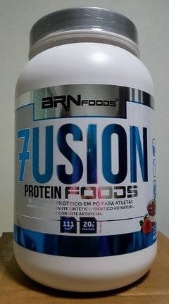 Whey Protein Concentrado Fusion Protein Foods 900g - BRN Foods - SuplementoSP