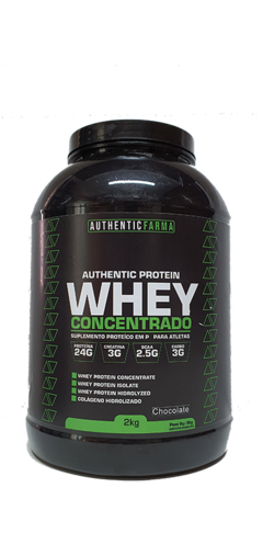 Whey 3W pote c/2kg - Authentic Farma