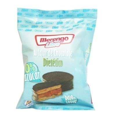 "Alfajor de Chocolate y Dulce de Leche ""Merengo"""