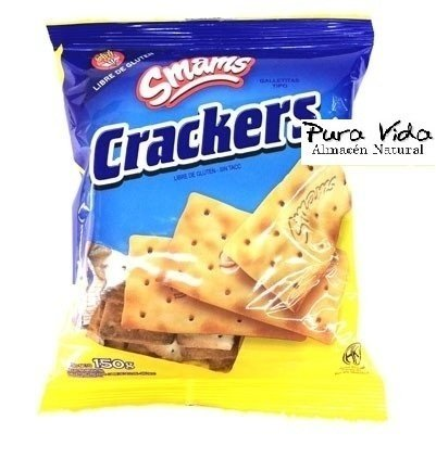 "Galletitas Crackes ""Smams"" 150 grms."