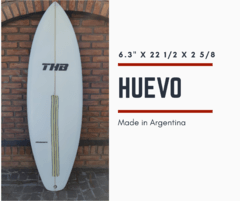 Tabla de Surf Huevito THB Iniciante/Intermedio 6`3