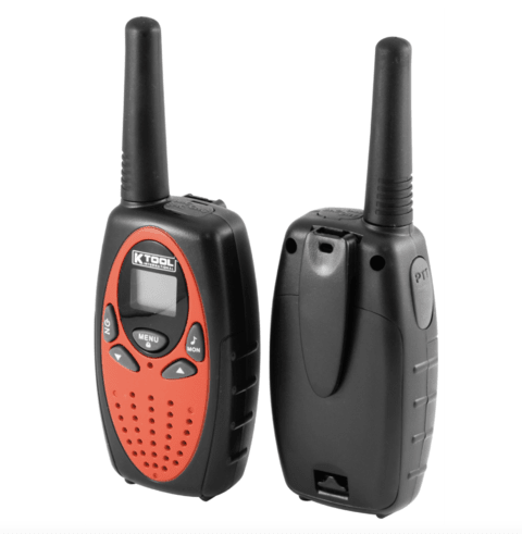 WALKIE TALKIE HANDY RADIO BIDIRECCIONAL 2 EQUIPOS KTI