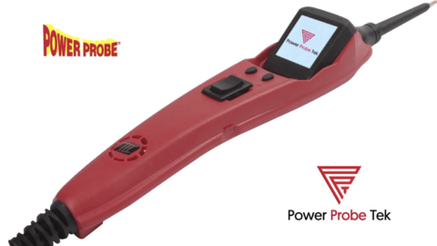 PUNTA LOGICA ENERGIZADORA y VOLTIMETRO 0-70V POWER PROBE 3EZ ( COLOR ROJO, EN CAJA )