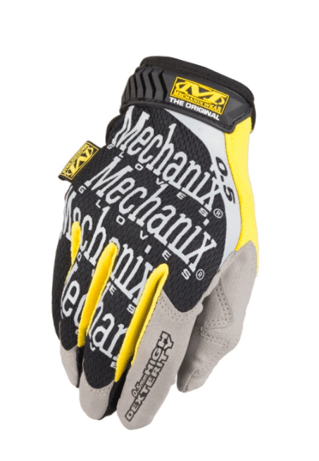 Guantes Originales High Dexterity 0.5mm Mechanix Tamaño XL