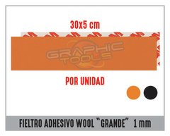 "FIELTRO ADHESIVO WOOL ""GRANDE"" 30 CM 1MM"