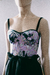 Violet Crop Top Corset de Brocato