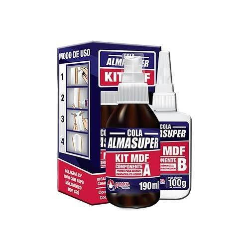 Kit Mdf 290 Ml Almasuper