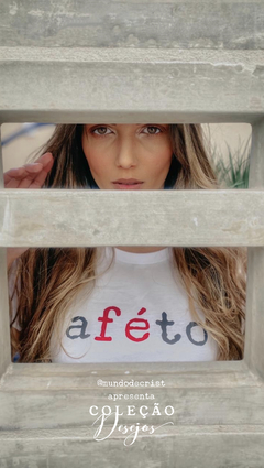 Banner da categoria T-shirt afeto branca