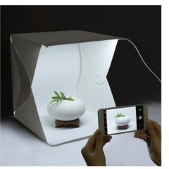 Mini Estudio Fotografico Portatil Con Led en internet