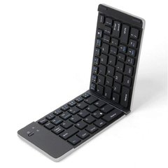 Teclado Plegable Portatil Bluetooth Aluminio Tablet Celular F66