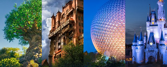 DISNEY - 2 DIAS - VISITE 2 PARQUES: MAGIC KINGDOM, DISNEY'S HOLLYWOOD STUDIOS, EPCOT OU DISNEY'S ANIMAL KINGDOM