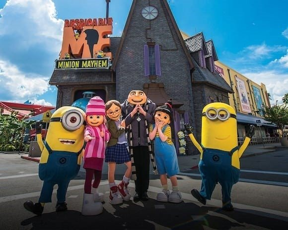 UNIVERSAL - 3 DIAS - VISITE 3 PARQUES: UNIVERSAL STUDIOS, ISLANDS OF ADVENTURE e VOLCANO BAY.