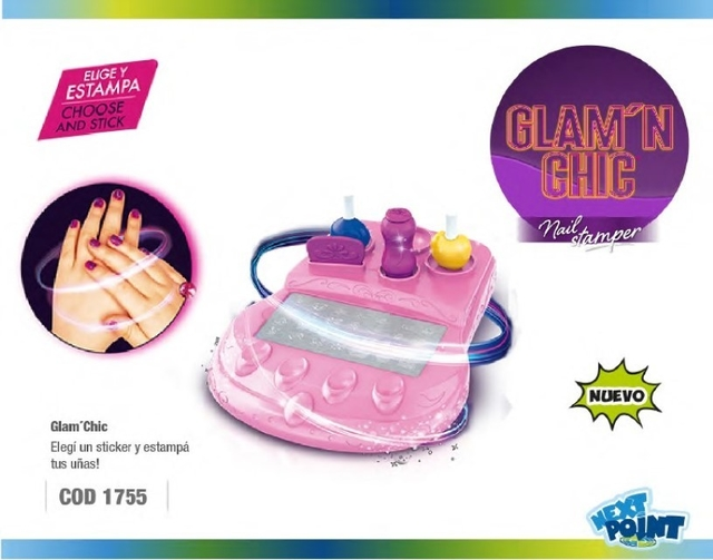 Glam Chic  Decora Tus Uñas Next Point Original (no Juliana) - comprar online