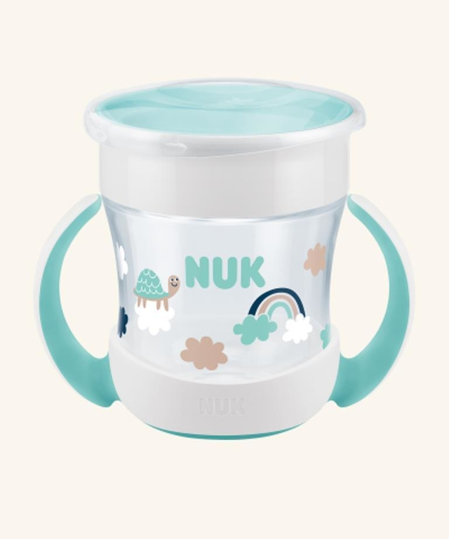 Vaso Nuk Bebe Mini Magic Cup 160 Ml +6 Meses 360 Antigoteo
