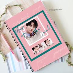 Caderno BTS Map of the Soul | Jungkook