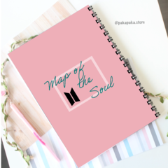 Caderno BTS Map of the Soul | Jungkook - comprar online