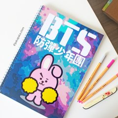 Caderno BT21 Cooky na internet