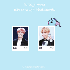 Kit Photocards BTS J-Hope na internet