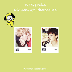 Kit Photocards BTS Jimin na internet