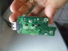 Placa Usb + Rede + Mini-din P Note Dell Lat D610 Daojm5lbag3