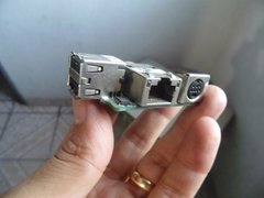 Placa Usb + Rede + Mini-din P Note Dell Lat D610 Daojm5lbag3 na internet