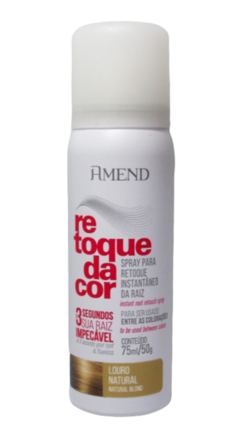 Amend Spray Retoque da Cor 75 ml (Louro Natural) - comprar online
