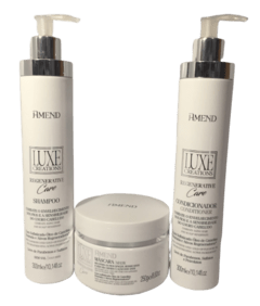 Amend Luxe Creations Regenerative Care Kit Shampoo |Condicionador |Máscara