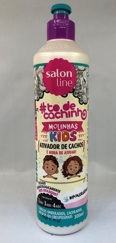 Salon Line Kids #Todecachinho Ativador De Cachos 300ml