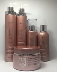 Amend Kit Luxe Creations Blond Care - Shampoo+Condicionador+Mascara+Leave-in+Fluido Reconstrutor