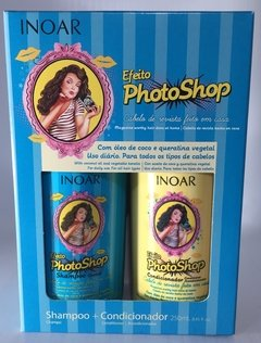 Inoar - Kit Efeito Photoshop Shampoo e Condicionador