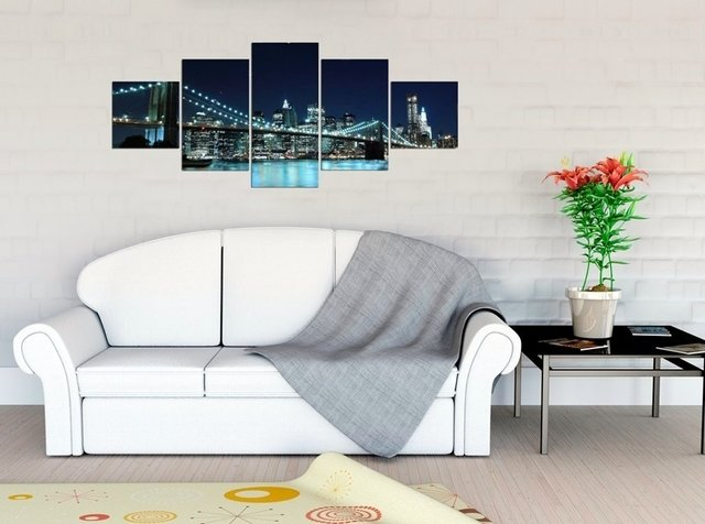 Quadro Decorativo Ponte Do Brooklyn 21
