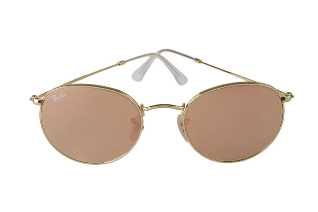 Óculos de Sol Ray Ban Round Flash Lenses RB 3447L 112/Z2 na internet