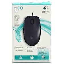 Mouse Logitech M90 Optico Usb Dark Midnight