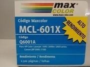 Imagen de Toner Alternativo Max Color Mcl-601x P/hp Laserjet / Cian