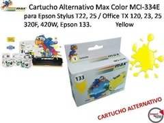 Cartucho Alternativo Max Color Mci-334e Para Epson Yellow