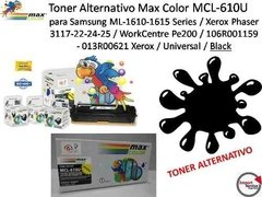 Toner Alternativo Max Color Mcl-610u P/samsung / Black