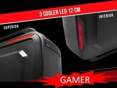 Gabinete Gamer Over Case Ox-204 Midtower Fuente 600w 80 Plus en internet