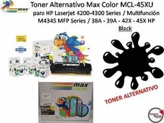 Toner Alternativo Max Color Mcl-45xu P/hp Laserjet / Black