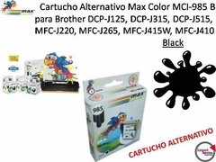 Cartucho Alternativo Max Color Mci-985 Para Brother / Black