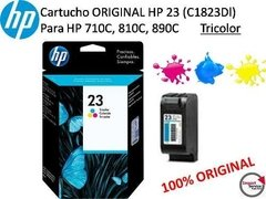 Cartucho Original Hp 23 (c1823dl) Para Hp Deskjet / Tricolor