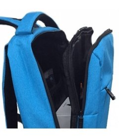 Mochila Zom Zb-350 P/notebook 15.6pulg Impermeable Blue - comprar online