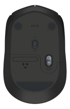 Mouse Logitech M170 / Wireless / 2.4 Ghz/ Hasta 10 Mts Negro - tienda online