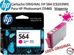 Cartucho Original Hp 564 (cb319wl) Photosmart D5460 Magenta