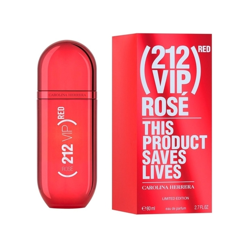 CAROLINA HERRERA VIP ROSE RED