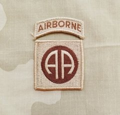 Patch 82th Airborne Division Desert (p/costurar)