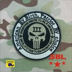Patch Punish, American By Birth, Patriot by Choice CIA Seal´s