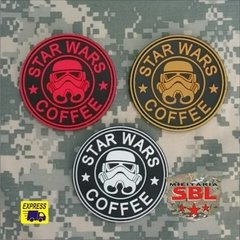 Funny Patch Emborrachado STAR WARS COFFEE