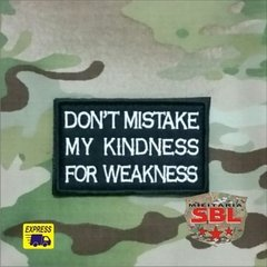 Funny Patch Don't Mistake - MILITARIA SBL