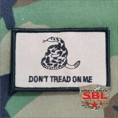 "Patch ""Dont Tread on Me"" - MILITARIA SBL"